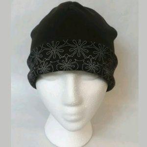 IllumiNITE Reflective Ponytail Knit Beanie Hat